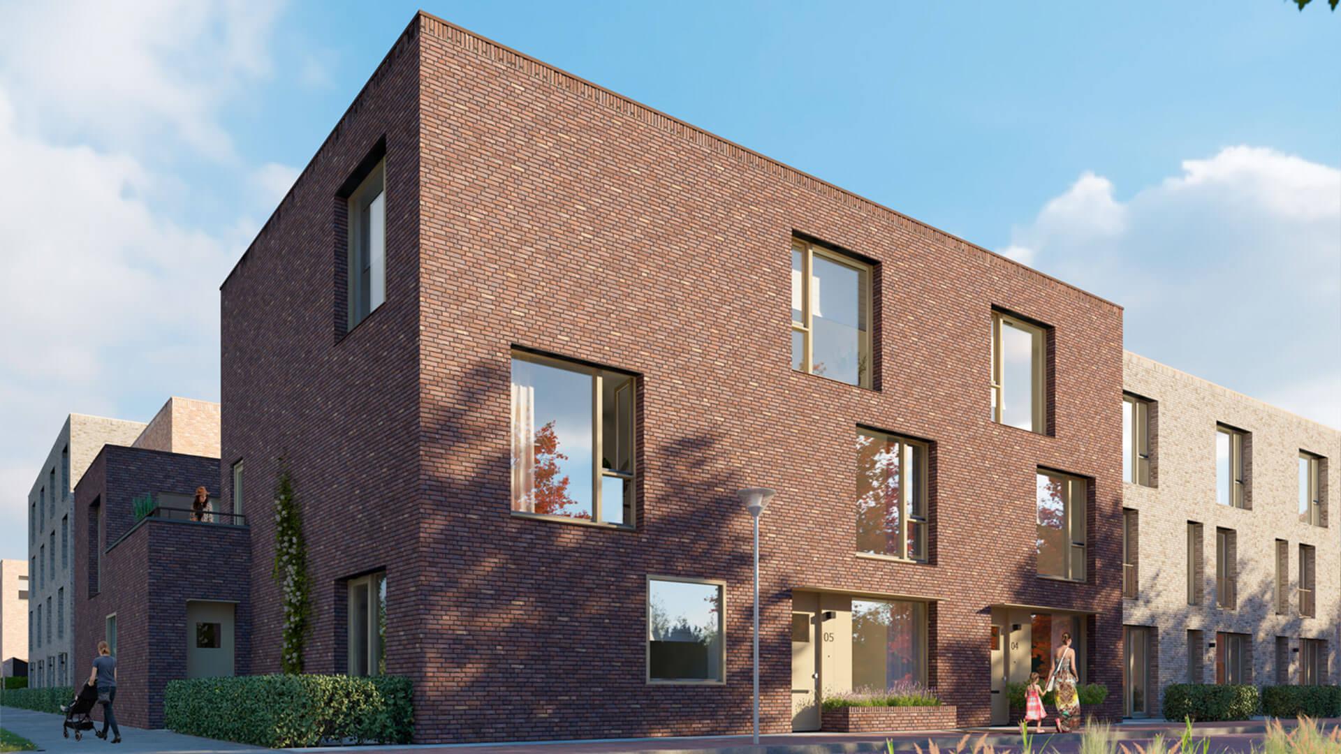 Nieuwbouw Woerden - WITT - Koopwoningen - exterieur