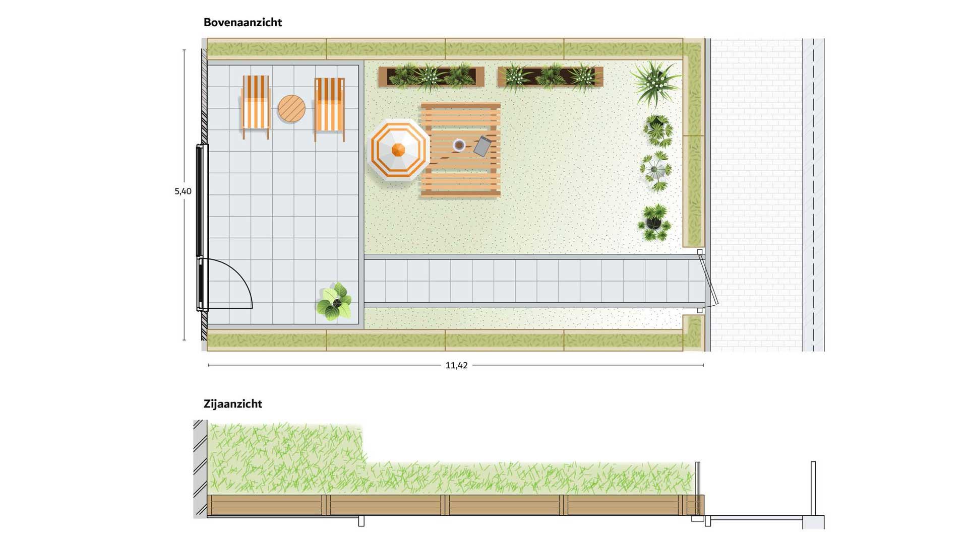 WITT-Nieuwbouw-Woerden-voorbeeld-ontwerp-dektuin
